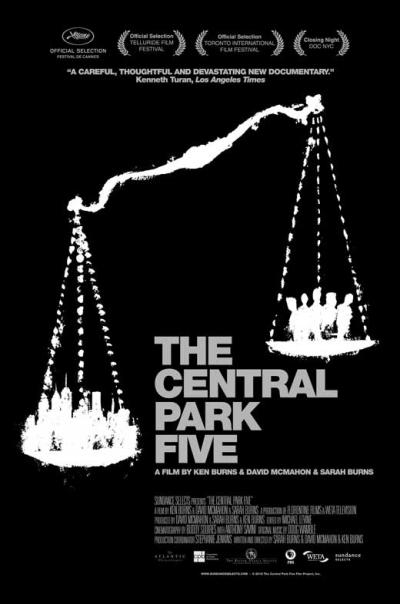 central park five movie poster0